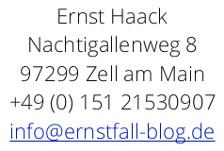 Email zu www.ernstfall-blog.de - DER AUTOMOBILBRANCHEN-BLOG