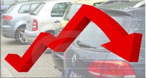 Deutschlands Autokäufer entzogen dem Automobilhandel im 1. Quartal des Jahres bislang die Gunst.